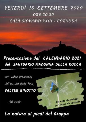 Presentazione calendario 2021 Santuario madonna della Rocca